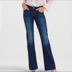 7 For All Mankind DOJO Rhinestone Pocket Jeans 27